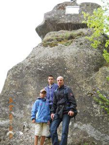 Gheorghe, Andrei si Ionut - pe urmele lui Mihai Viteazul (Cetatuia )
